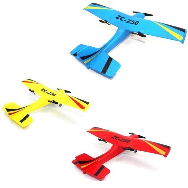 Funny RC Airplane Z50 Gyro Remote Control Glider 350mm Wingspan EPP Micro Indoor Airplanes Flying Remote Control Plane for Boys