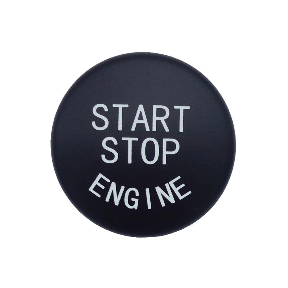 Кнопка запуска двигателя автомобиля замена крышки стоп-переключатель аксессуары ключ декор для BMW X1 X5 E70 X6 E71 Z4 E89 3 5 серии E90 E91 E60
