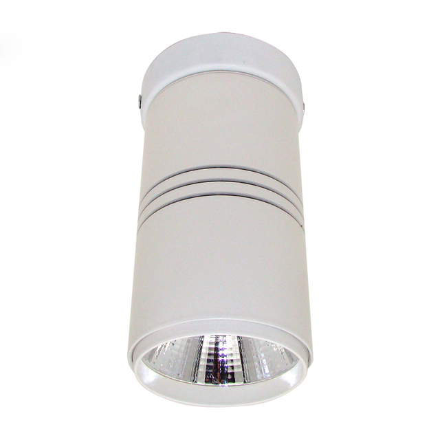 Modern Led Ceiling Lights For Home Lighting Round 75mm Aluminum Lamp Super Bright 12w Cob
