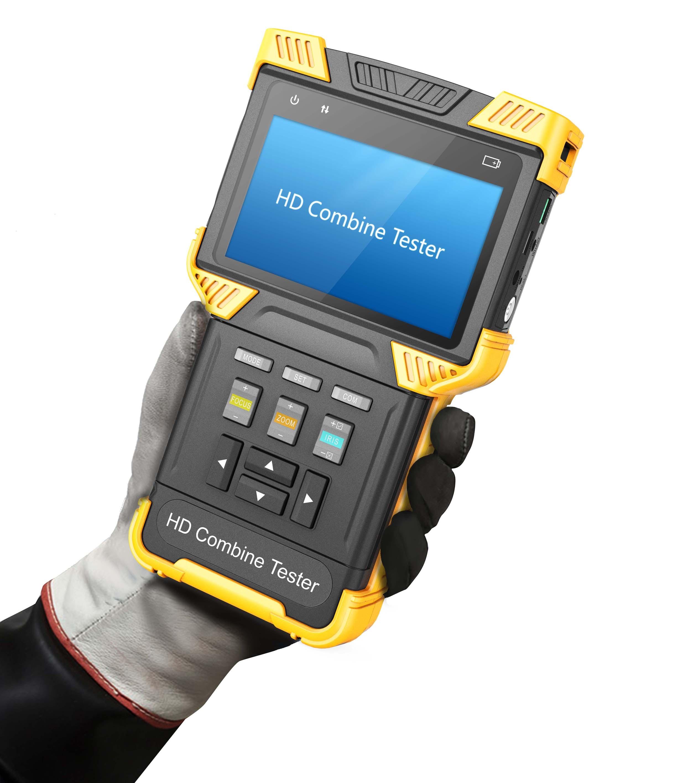 DHL Ücretsiz DT-T70 4.0 Inç HD Birleştirmek CCTV Tester Monitör - Güvenlik ve Koruma - Fotoğraf 2