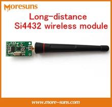 Fast  Free Ship 2PCS/LOT Long-distance Si4432 wireless module/low power consumption TTL level 433MHz wireless passthrough module