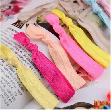 Free Shipping South Korea Candy Color Elastic Hair Bands for WomenFashion Hair Ring Hair Clip many colors 6pieces/lot