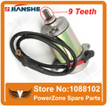 JIANSHE ATV400-1-2-3-7 400cc ATV US or EURO Standard  Quad Electric Starter Motor 9Teeth Start Motor Free Shipping
