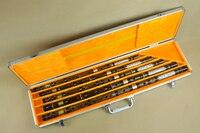 Высокое качество профессиональных горький бамбук музыкальные инструменты, флейта dizi инструменты Китайский flauta один комплект 5 штук