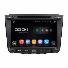 """Quad Core HD 2 din 8 """"Android 5.1 Carro dvd gps para Hyundai IX25 2014 2015 com 16 GB ROM Rádio 3G WIFI BT IPOD TV USB espelho-Link"""