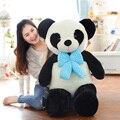 60 cm panda Colorido Bow tie Forma Animal de pelúcia Recheado de Brinquedos Travesseiro Do Bebê