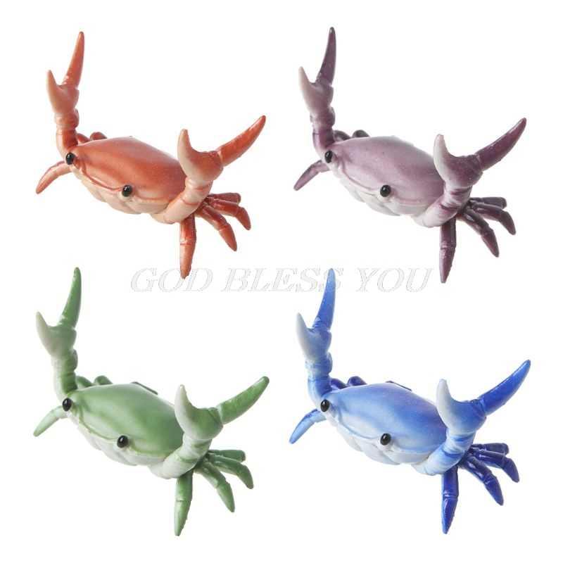 New Japanese Creative Cute Crab Pen Holder Weightlifting Crabs Penholder Bracket Storage Rack Gift Stationery