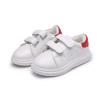 בני בנות נעלי ילדי חורף סתיו בתוספת קטיפה נעלי נעליים שטוחה לילדים נוחים פעוטות מאמני נעלי בנות הלבן