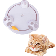 Pet Electric Cat Toy Interactive Rotating Smart Game Turntable Capture Mouse Donut Automatic Stimulation