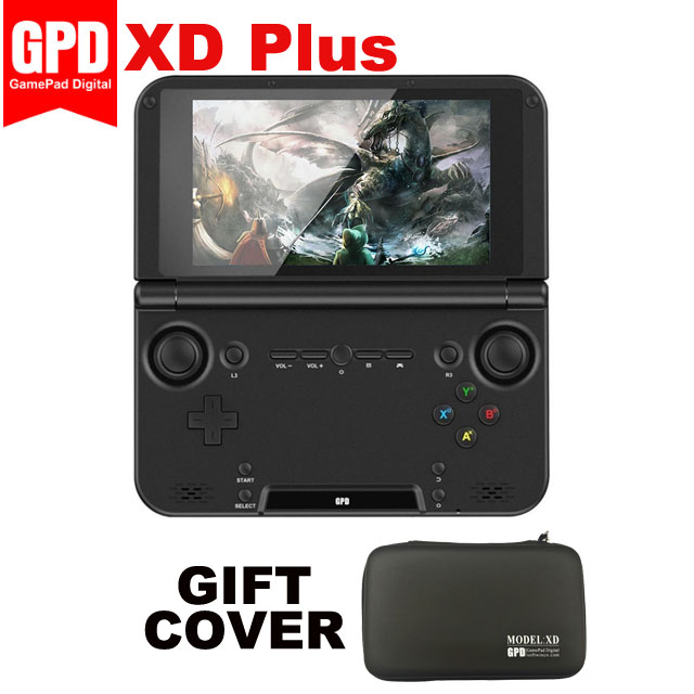 Original GPD XD Plus 5 Polegada 4 GB/32 GB MTK 8176 Hexa-core Jogo Handheld Unidade (preto)