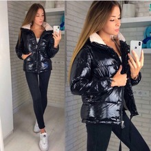 VANGULL winter coat women 2019 New Long Sleeve Jacket Women parka Female Warm Th
