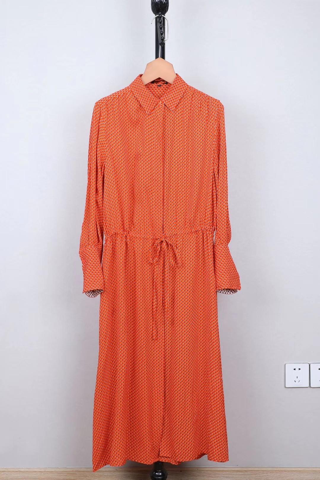 2019 été nouvelle soie 20 m sang robe en soie