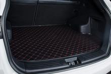 automobile trunk mat leather car cargo liner for Agila Vectra Zafira Astra GTC PAGANI ZONDA SAAB Spyker RAM HUMMER free shipping