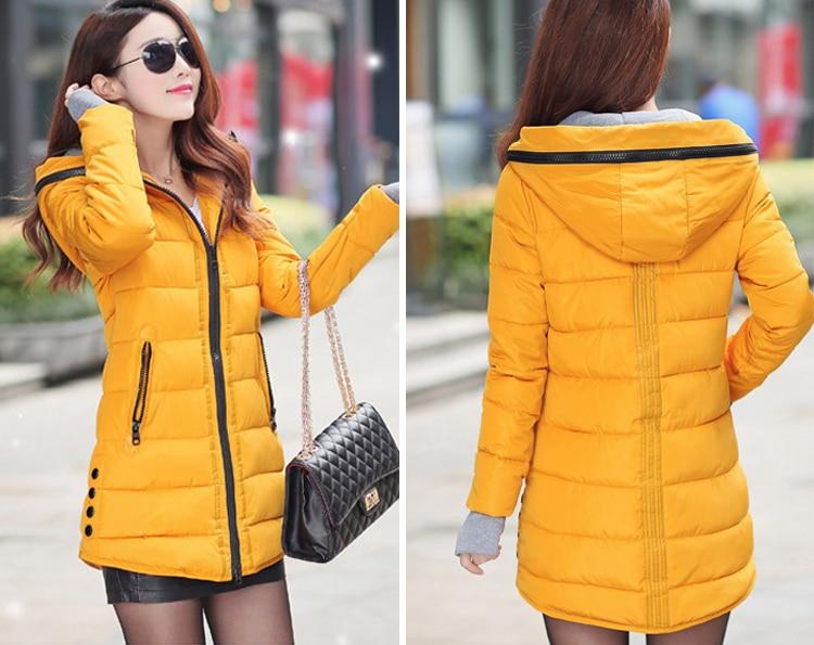 HTB1wZn8X93PL1JjSZFtq6AlRVXar 2019 women winter hooded warm coat slim plus size candy color cotton padded basic jacket female medium-long jaqueta feminina