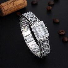 Fashion Women Dress Bracelet Watch Bow Tie Silver Watchbrand Luxurious Ladies Watches Geneva Quartz Clock Female Wristwatch