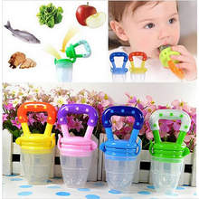 NEW Nipple Fresh Food Milk Nibbler Feeder Feeding Tool Bell Safe Baby Bottles mamadeira 3 Sizes Pacifier Nipple Teat(China)