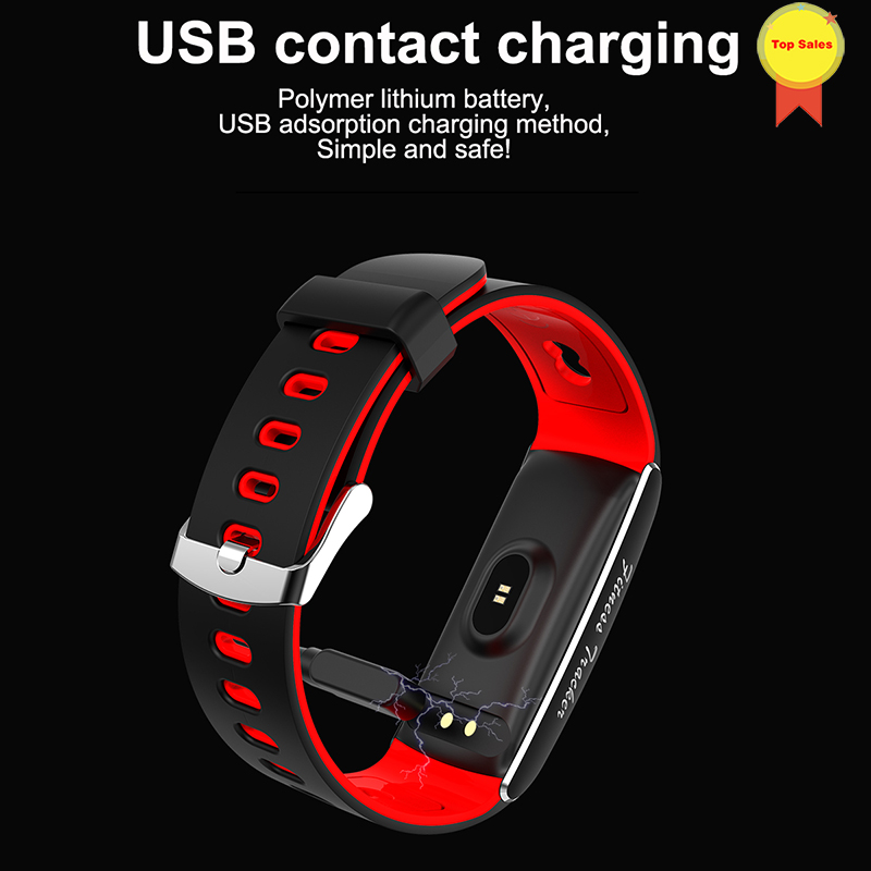 Original Smart Bracelet IP67 Waterproof Color Screen Fitness Tracker Sport Remote Control Smart band for Android iOS Phone men in Smart Wristbands from Consumer Electronics