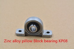 8mm kp08 kirksite bearing insert bearing shaft support spherical roller zinc alloy mount bearing pillow block.jpg 250x250