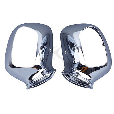 Chrome Rear Mirrors case For Honda GL1800 GOLDWING 2001-2011 motorcycle rear view side mirrors housing for honda goldwing gl1800 2001 2011 chrome red black
