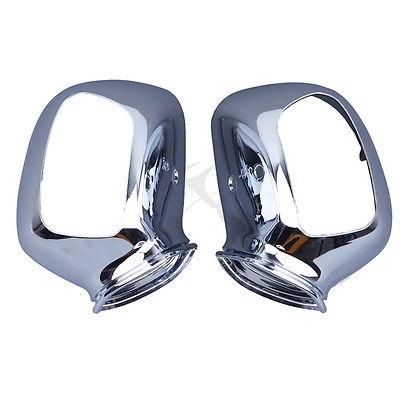 цена на Chrome Rear Mirrors case For Honda GL1800 GOLDWING 2001-2011