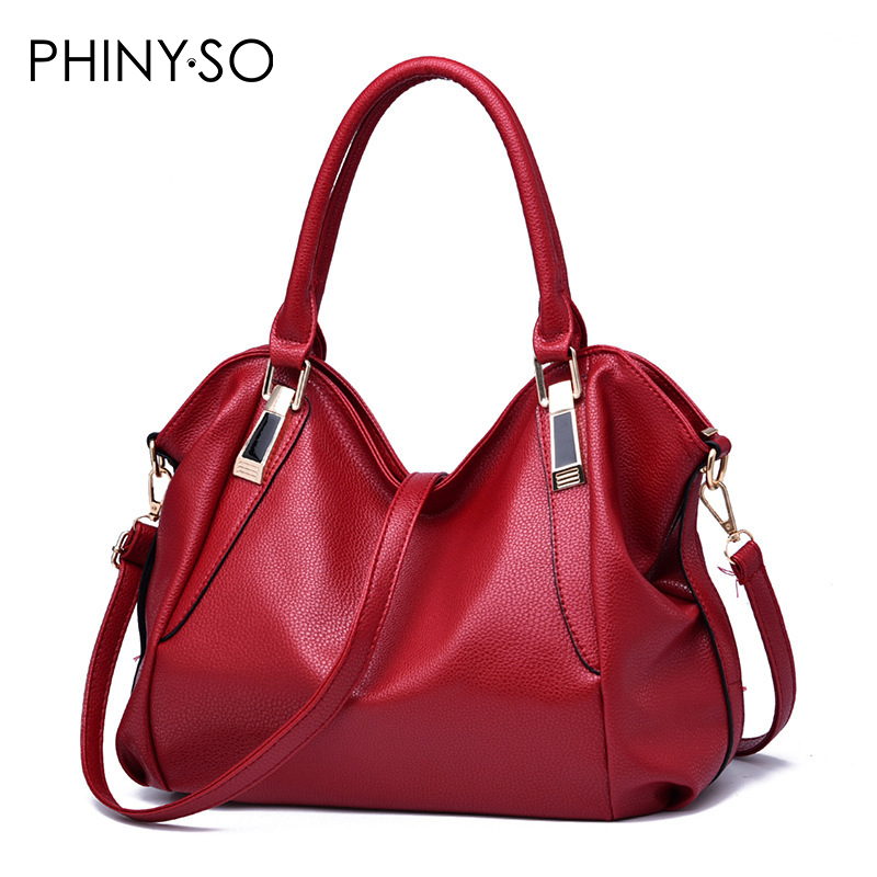 Fashion European and American Style women bag shoulder bags Bolsos Mujer Leather casual tote Lady handbag