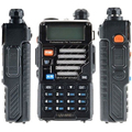 Обновление Baofeng Уф-5r 10 Км Walkie Talkie Двухдиапазонный Два 2 двухстороннее Радио Портативный Приемопередатчик Для Ptt Станций Радио Пмр Walky Talky