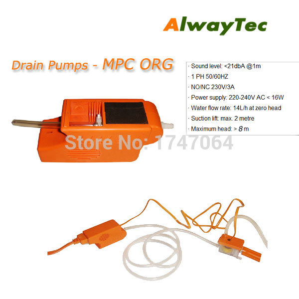 MPC ORG MPC RED Air conditioner Condensate Drain Pump Water Drain Pump for Air conditioner