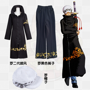 Stock Trafalgar D. Water Law Chirurg des Todes Anime One Piece - Kostüme - Foto 2