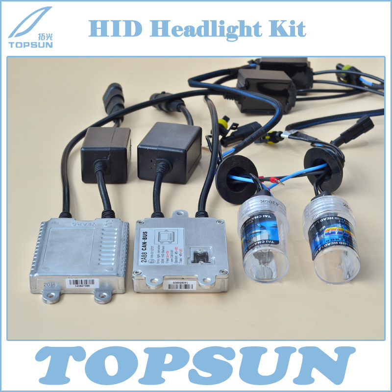Headlight Kit Hyluxtek 2A88 CAN-BUS ballast and Chinese Top Brand TC 35W H1 H3 H7 H8 H9 H10 H11 9005 9006 880 881 HID Xenon Bulb ecar e4035 can bus universal replacement 35w hid ballast dc 9 16v