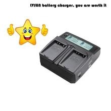 Lvsun Универсальный DC и автомобиль Батареи для камеры Зарядное устройство для LP-E6 Батарея LPE6 Bateria для Canon 5D Mark II III 7D 6D камера аксессуары