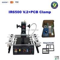 Free Ship LY IR6500 V 2 BGA Rework Station Bigger Preheat Area 240 200mm USB Port