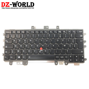 New Original for Thinkpad Ultrabook Pro HELIX Gen 2 20CG 20CH French Backlit Keyboard FR Teclado 00JT595 00JT635 00UR049