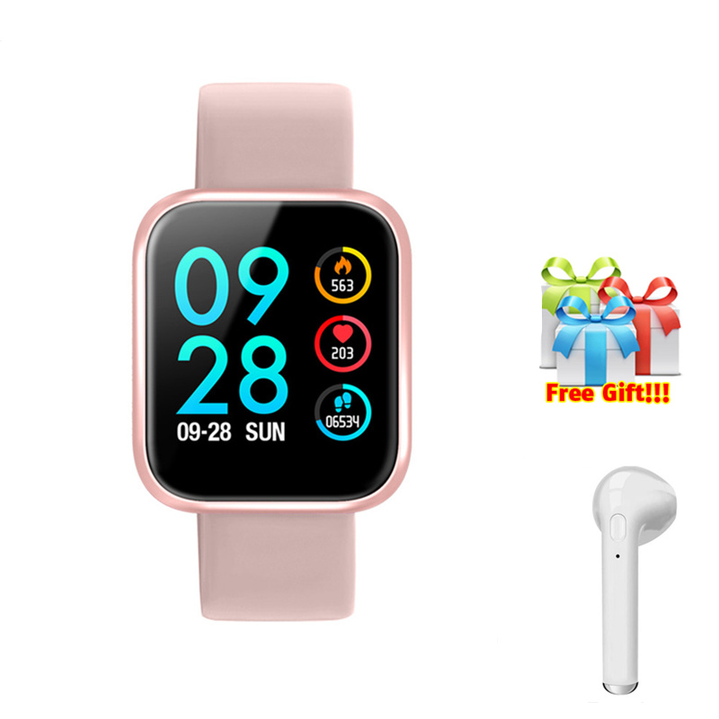 Fitness tracker sports women pressure measurement watch monitor cardiaco for ios Android apple iPhone reloj inteligente+gift