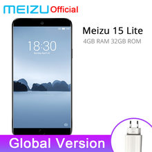 "Global Version Meizu 15 Lite 4GB 32GB smartphone Snapdragon 626 5.46"" 1920x1080P 3000mAh Battery Fingerprint(China)"