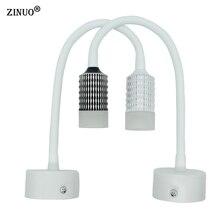 ZINUO Acrílico Ángulo Ajustable 3 W COB Lámparas de Pared Para Niños de Lectura Lámpara de Noche Dormitorio Pasillo Luz AC90-260V