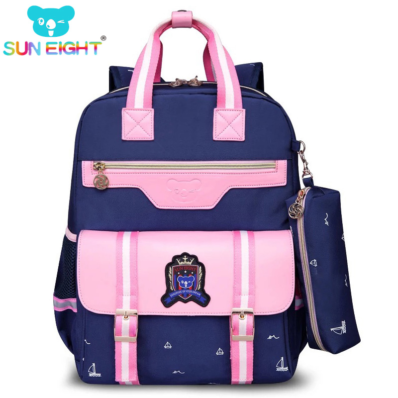 Orthopedic School Bag Backpacks Oxford Farbic Girls Backpack Children School Bookbag Girls School Bags 2018 Fashion Trend