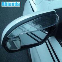 Alijunda 2 Auto Achteruitkijkspiegel Regen Waterdichte Wenkbrauwen Voor Honda Crv Accord Odeysey Crosstour Fit Jazz Stad Civic Jade Crider