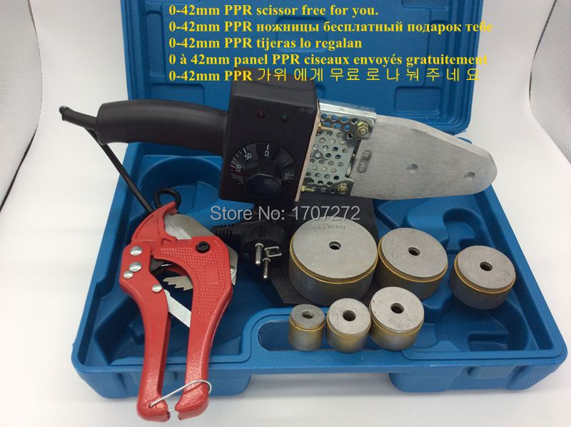Hegesztőberendezések Hőmérsékletű PPR hegesztőgép, PVC - Hegesztő felszerelések - Fénykép 2