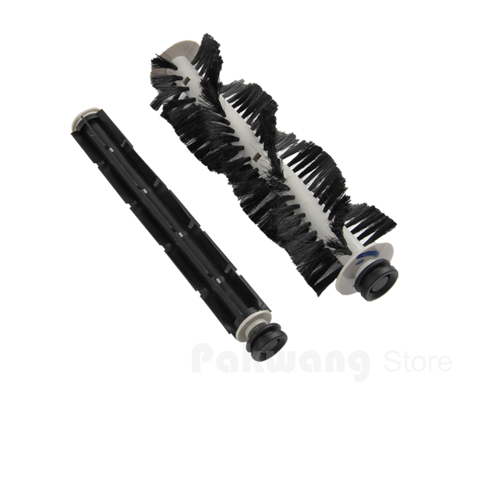A320 and A325 Hair brush and Rubber brush, Seebest C565+ Robot vacuum cleaner Spare Parts
