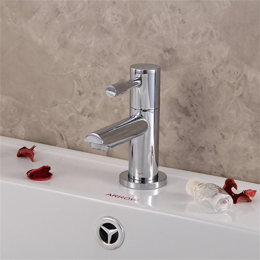 Deluxe Chrome laiton bain salle de bains cuisine robinets de toilette robinet lavabo mélangeur
