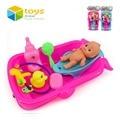 Baño del bebé Juguetes para Niños Juguetes Para Niños de Agua Bañera Baño Juego de Conjunto de Juguete Educativo Temprano Cognitiva Flotante Regalo Recién Nacido