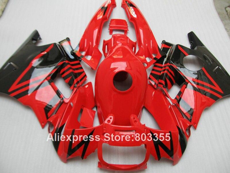 Red Fairings for Honda CBR 600 F2 1991 1992 1993 1994 cbr600 ( +tank cover ) fairing kit 94 93 92 91 xl58
