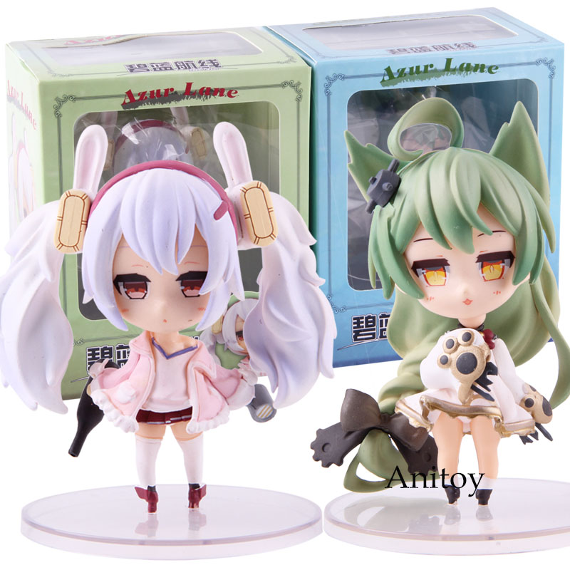 Game Azur Lane SD Lafie Akashi Q Cute Version PVC Action Figure Collectible Model Toy
