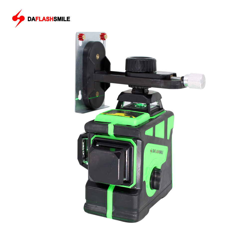Big Strong 3D 12 Green Lines Laser Level Thick Lines Self Leveling 360 Horizontal And Vertical
