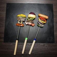 Термостойкий антипригарный коврик для гриля 90% стильных уличных барбекю в США используют подстилка для барбекю и гриля