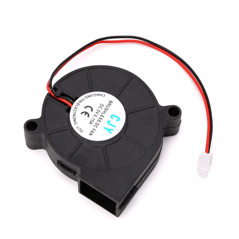50mmx15mm DC 5V 2-Pin Computer PC Sleeve-Bearing Cooler Blower Cooling Fan 5015