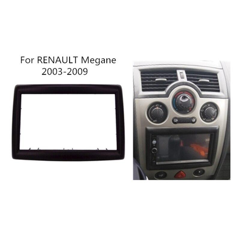 2 DIN Adapter CD Trim Panel Stereo Interface Radio Auto Frame Panel Fascia für RENAULT Megane II 2003-2009 2Din