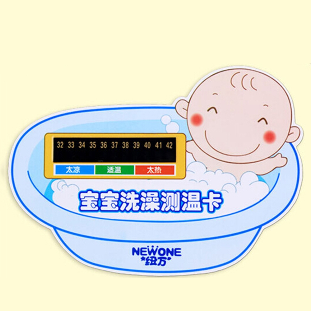 Baby Bath Water Temperature Test Strip New Digital Safe Thermometer ...