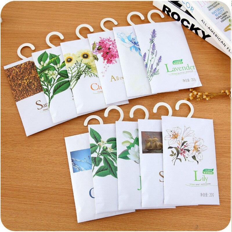 Hanging Spices Wardrobe Sachets Wardrobe Pest Control Mildew Odor Aromatherapy Sachet Bags Air Freshener For Homes