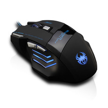 Spider 7200 DPI Gaming mouse 7 Button mouse maus gamer USB wired mouse Laptop Desktop wired mice computer mouse LOL